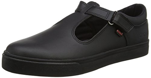Kickers Women's Tovni T-Bar shoes, Black (Black), 6.5 UK 40 EU
