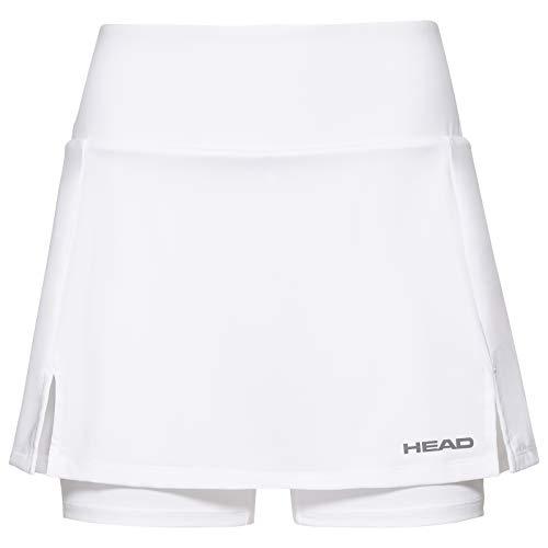 HEAD Damen Club Basic Long Skort XL weiß