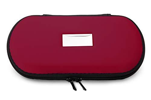 Aufbewahrungs-Etui Ego für E-Zigaretten und E-Shishas ideal als Tasche Hülle Bag Case zum Schutz oder für Liquids und Zubehör Beere