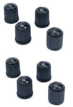 Tyre Valve Dust Caps x8 (2 Packs Of 4)