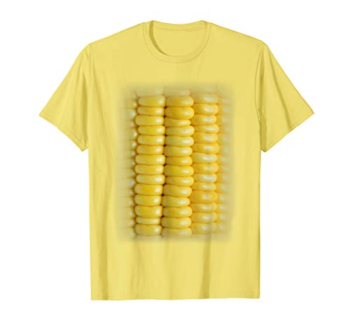 Kostüm Getreide - Mais Halloween Kostüm - Lustiges Maiskolben Kukuruz Gemüse T-Shirt