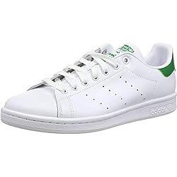 adidas Originals Stan Smith M20324, Unisex-Erwachsene Low-Top Sneaker, Weiß (Running White/Running White/Fairway), EU 38 2/3