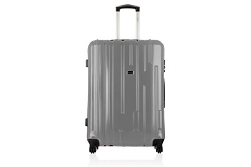 UNANYME GEORGES RECH Valence Valise Weekend, 63 L, Argent