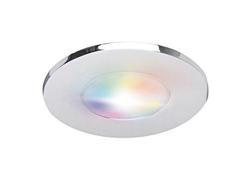 iDual LED-Deckeneinbauleuchte Performa Metall Chrome 8.5 x 8.5 x 5.5 cm