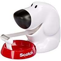 Scotch 88544 Magic Dispenser Nastro Cane, 1 Rotolo, 19 mm x 7.5 m