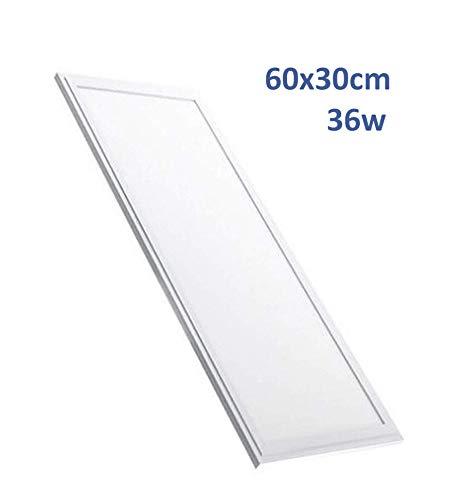 LED ATOMANT Panel LED rectangular 60x30 cm, 36W, 2800 lumenes Reales, Neutro...