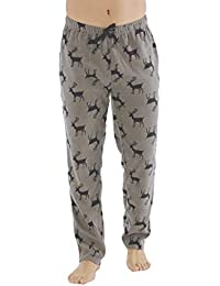 59a2329af4 Generic Men's Classic Checked Polar Fleece Trouser Flannel Pyjamas Bottoms  PJ's