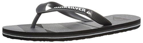 Quiksilver , Sandales pour homme Grey/Grey/Black