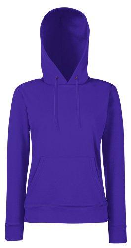Sweat-shirt à capuche t-shirt pour femme différentes tailles et couleurs disponibles-shirtarena faisceaux Violet - Violet
