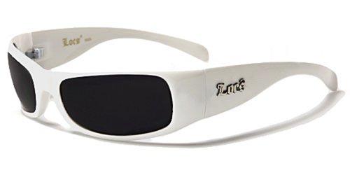 Locs Sonnenbrille Mode-Fashion-Strand-Stil-zufällig-Licht-Abend/Mod. Rider Weiß