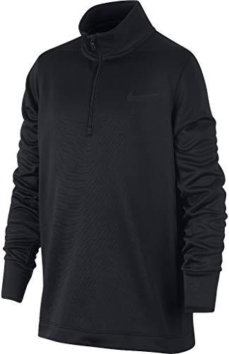 Nike Jungen Oberteil Mit Halbreißverschluss Dri-Fit Therma, Black/(Black), M, 933473-010