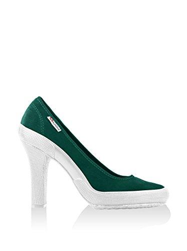 Damenschuhe- 2141-velw Dk Green