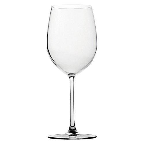 UTOPIA p67034Bar und Tisch Wein Glas, 20oz, 58cl, rot (6Stück)