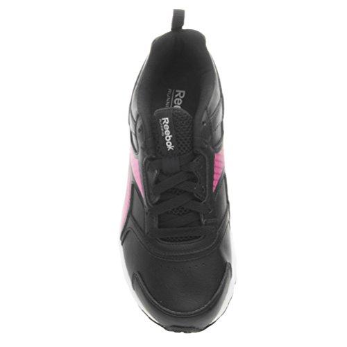 Reebok Pheehan Run 4.0 Sl, Scarpe da Corsa Donna Nero (Negro  (Black / Poison Pink / White / Shark))