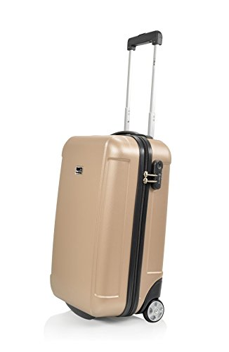 Blue Star Prague Valise Cabine, 50 cm, 36 L, Champagne