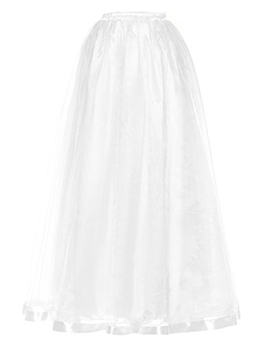 BeiQianE Women's 50s Vintage Petticoat A-Line Skirt for sale  Delivered anywhere in UK
