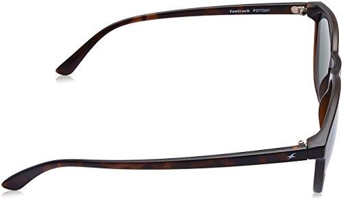 Fastrack UV Protected Goggle Men's Sunglasses - (P377GR7 58 Green Color)