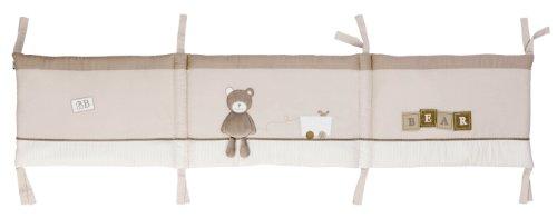 Candide 133680 Nestchen Tinours mit Schleifen zum Binden passend für Bett, maße 60 x 120 cm und 70 x 140 cm (Schleife Passend)