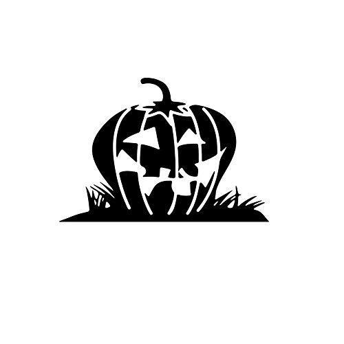 Halloween großer kopf kürbis mode künstler schlafzimmer wohnzimmer wandaufkleber TV hintergrund wanddekoration kreative kinderzimmer wandaufkleber, 57x39 cm