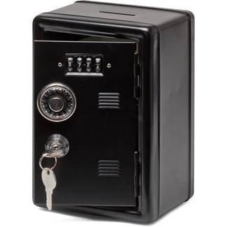 Preisvergleich Produktbild Metall-Spind Bank Schlüsselsafe,  Schwarz