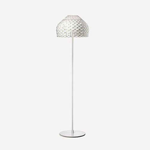 Post-moderne Pinecone Metall Stehleuchte Kreative Persönlichkeit Hohl Acryl Lampenschirm Stehleuchte Weiß 180x50cm 0710P (Hohl-post)