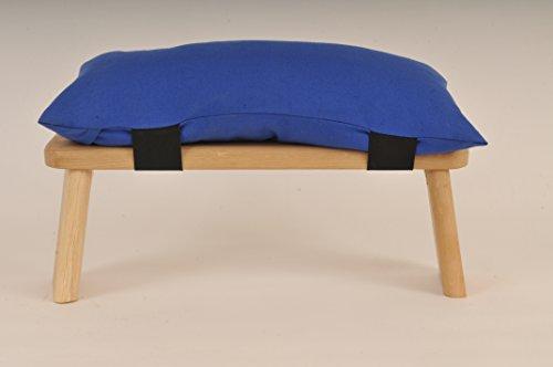 Meditation Hocker Kissen, blau
