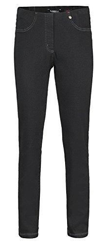 Robell -  Pantaloni  - straight - Donna Jeans-Schwarz(90)