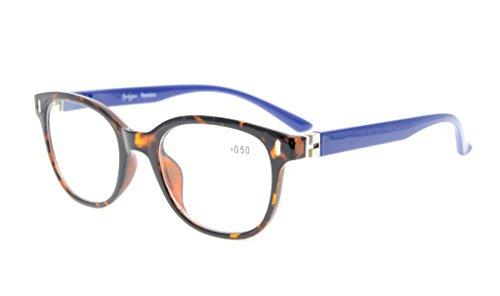 Eyekepper Leser Männer Frauen Einzigartige 180 Grad Frühling Scharniere Brillen Schildkröte