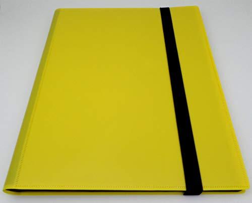 Docsmagic.de Pro Player 9 Pocket Album Yellow   360