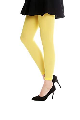 Leggings amarillos para mujer