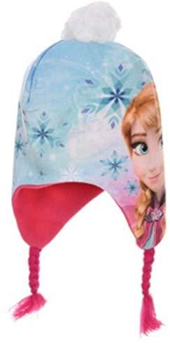 Disney bambine e ragazze frozen cappello invernale peruviano rosa-52 cm