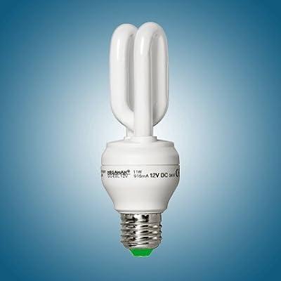 Megaman Energiesparlampe DC 12V 11 Watt E27 827 warmweiß 12 Volt von Megaman auf Lampenhans.de