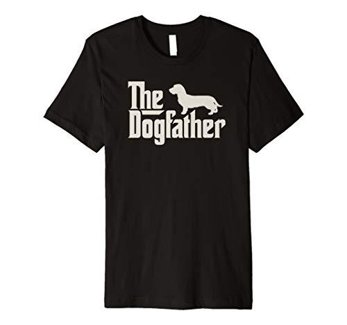 The Dogfather Dackel Hundepapa Herrchen Shirt -