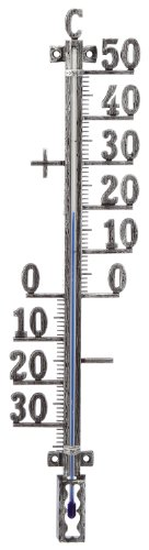 TFA Outdoor Thermometer - antique tin
