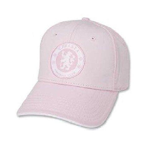FC Chelsea London Baseball Frauen Ladys Cap Kappe Cappy Hut Mütze PINK (Verstellbare Womens Kappe Pink)