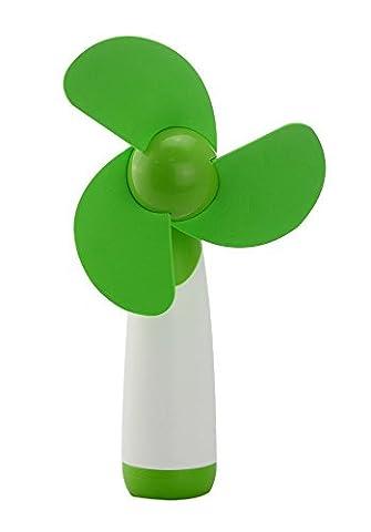 Flyproshop Handheld Mini Super Mute ventilateur portatif Mini Candy Couleur AA alimentation par batterie portable ventilateur de refroidissement à piles Mini ventilateur électrique ventilateurs personnels pour la maison et les