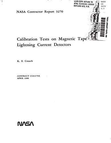 Calibration tests on magnetic tape lightning current detectors (English Edition)