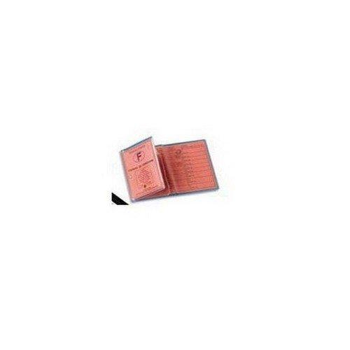 ELBA - 1 Etui de protection transparent - 3 volets/6 faces - 85x125mm