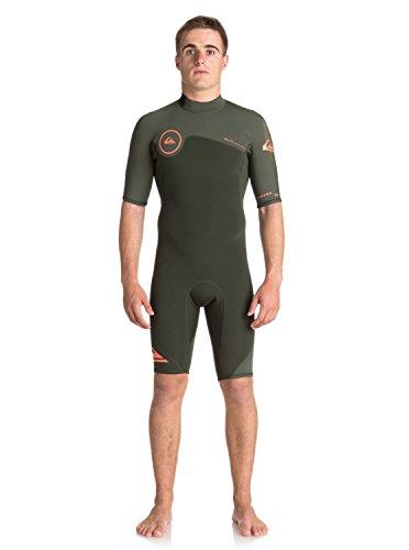 Quiksilver 2mm Syncro Back Zip FLT - Short Sleeve Spring Suit - Männer