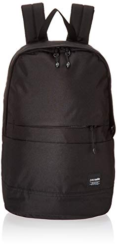 Pacsafe Slingsafe LX300, Anti-Diebstahl Rucksack, Daypack mit Sicherheitstechnologie, 20 Liter, Schwarz / Black