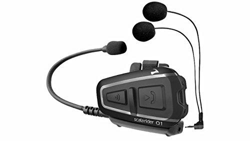 Cardo Gegensprechanlage Scala Rider Q1SINGLE Bluetooth GPS TomTom Motorrad Helm