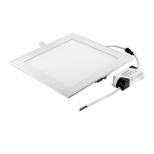 Zuversichtlich 12w Led Panel Rund Slim Kaltweiß Decke Küche Einbauleuchte Deckenlampe Trafo Deckenleuchten Beleuchtung