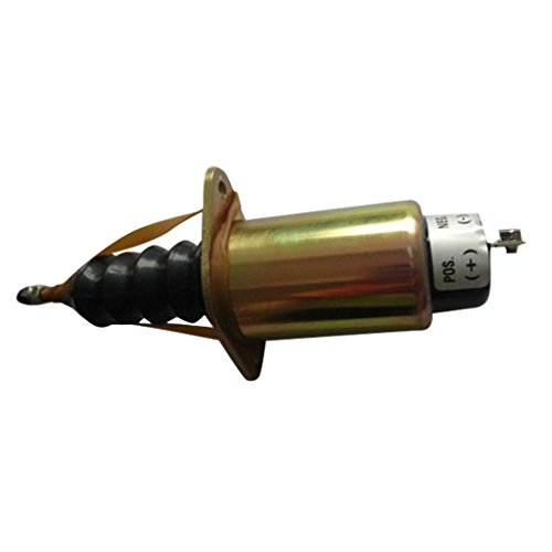 3919445Kraftstoff Solenoid DC12V-sinocmp Shut Off Ventil für Cummins Diesel Motor Ersatzteile 3Monate Garantie - Cummins-diesel-motor