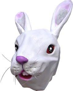Masque de Déguisement - Lapin Blanc