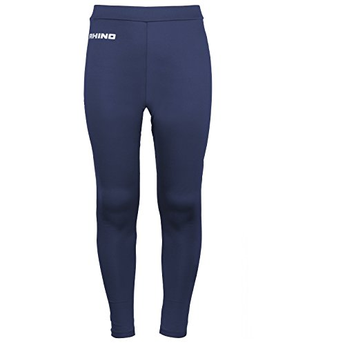 rhino-base-layer-tights-junior-sport-compression-fit-unisex-thermal-pants-navy-ly-xly-11-12-yrs