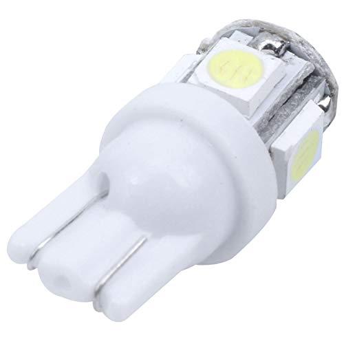 SODIAL(R) Lot de 2 Ampoules Veilleuse LED SMD T10 W5W SMD