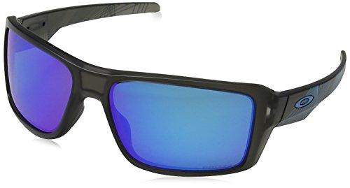 Oakley Herren 0OO9380 Sonnenbrille, Schwarz (Matte Grey Smoke Aero), 66