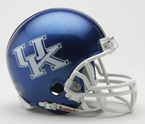 RIDDELL - KENTUCKY WILDCATS DE FUTBOL AMERICANO MINI CASCO