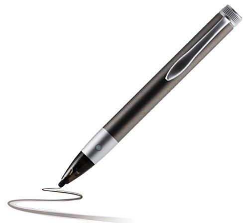 Navitech Anthrazit digital Fine Point Hoche Präzision Active Stylus Pen / Eingabestift mit dünner Spitze kompatibel mit Sony Xperia Z4 Tablet / Sony Xperia Z3 Tablet Compact / Sony Xperia Z2 Tablet