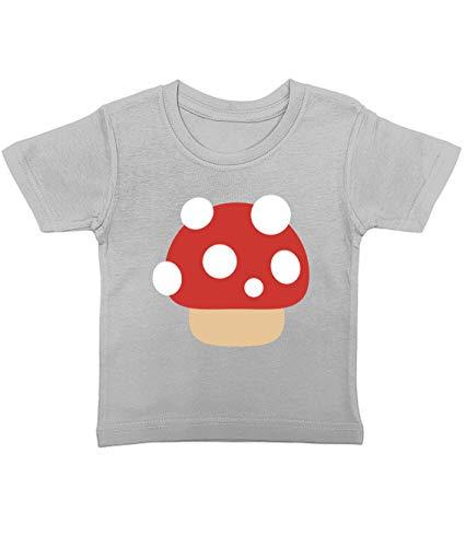 Artdiktat Baby T-Shirt   Cuties Niedliche Motive Fliegenpilz Pilz D307   Size 2, (Fliegenpilz Kostüm Baby)
